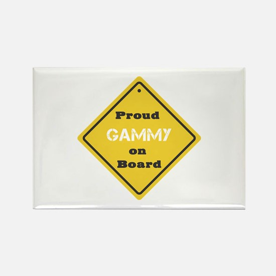 Proud Gammy on Board Rectangle Magnet