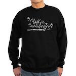 Happy Halloween molecule Sweatshirt (dark)