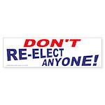 Don't Re-elect (Bumper 50 pk)