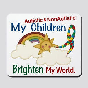 Brighten World 1 (A &Non/A Children) Mousepad