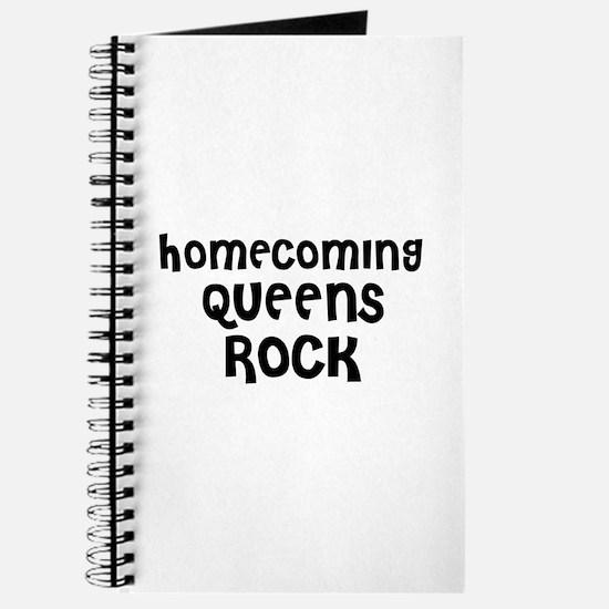 HOMECOMING QUEENS ROCK Journal