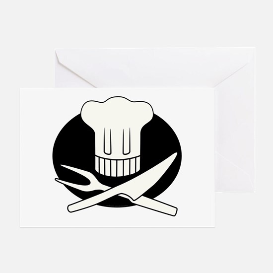Pirate Chef Greeting Card