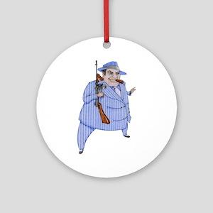 Mob Boss Ornament (Round)