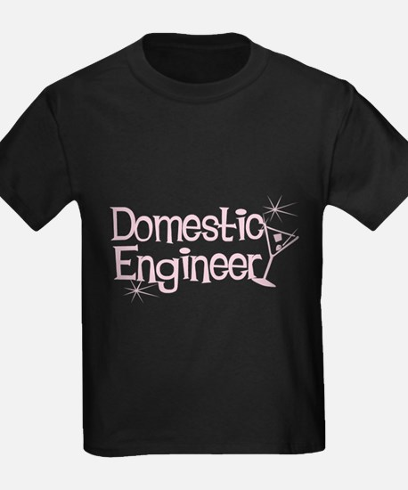 Domestic Engineer Pink T
