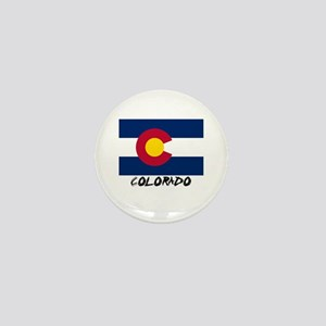 Colorado Flag Mini Button