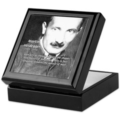 Man / Language: Heidegger Keepsake Box