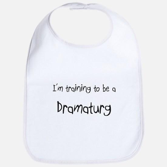 I'm training to be a Dramaturg Bib