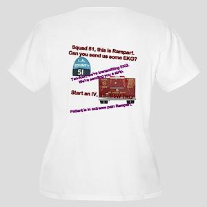 Squad 51 Rampart Women's Plus Size V-Neck T-Shirt