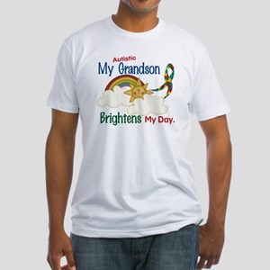 Brighten World 1 (A Grandson) Fitted T-Shirt