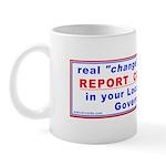 Report Corruption Mug
