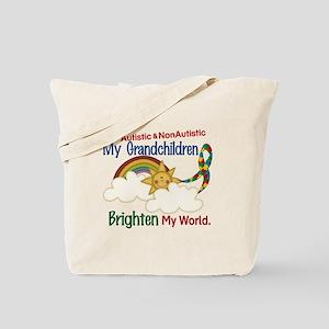 Brighten World 1 (A &Non/A Grandchildren) Tote Bag