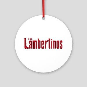 Lambertinos Ornament (Round)