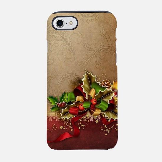 Christmas Decor iPhone 7 Tough Case