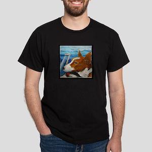 Turbine the Terrier Dark T-Shirt