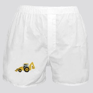 Backhoe Boxer Shorts