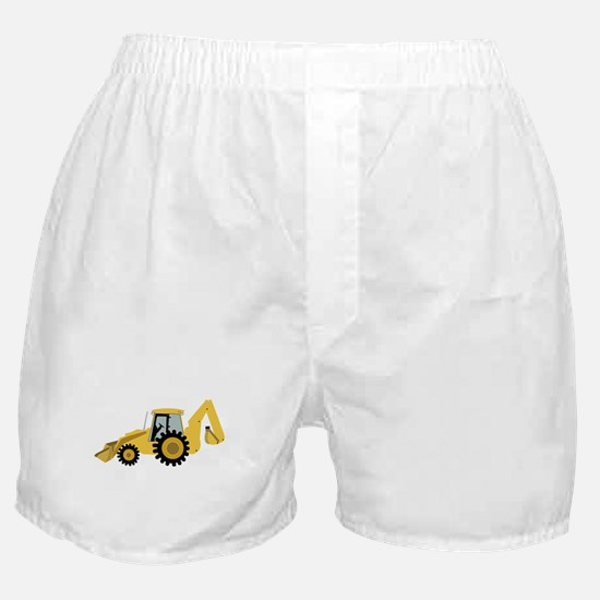 Backhoe Boxer Shorts