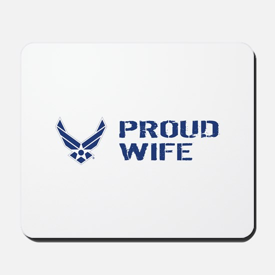USAF: Proud Wife Mousepad