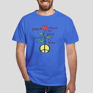 Grow Peace Dark T-Shirt
