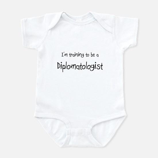 I'm training to be a Diplomatologist Infant Bodysu