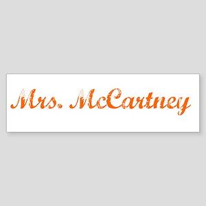 Mrs. McCartney Bumper Sticker