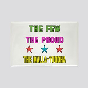 The Few The Proud MMA Martial Art Rectangle Magnet