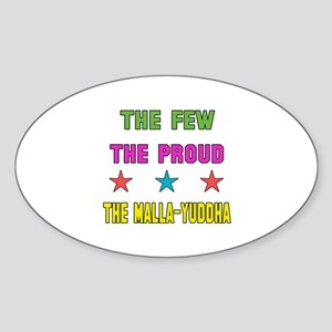 The Few The Proud MMA Martial Arts Sticker (Oval)