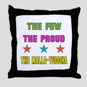 The Few The Proud MMA Martial Arts Throw Pillow