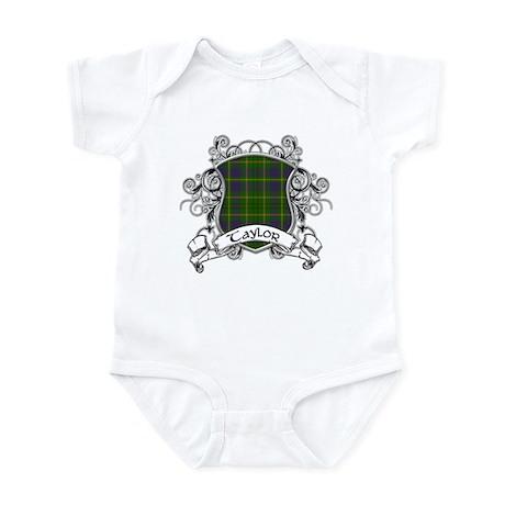 Taylor Tartan Shield Infant Bodysuit