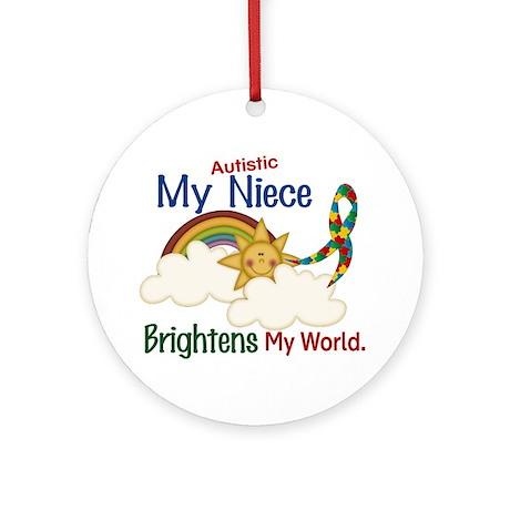 Brighten World 1 (A Niece) Ornament (Round)