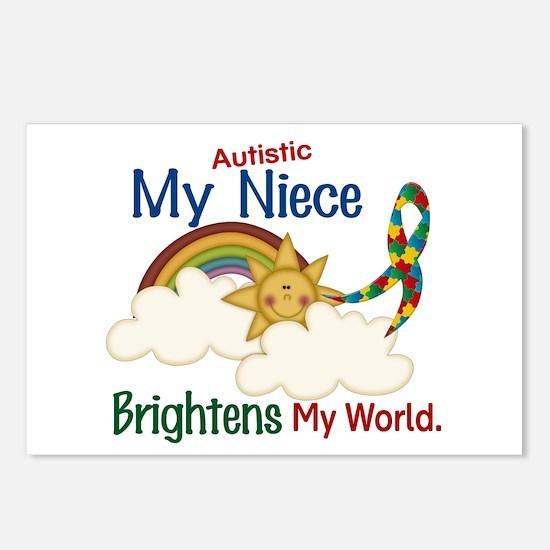 Brighten World 1 (A Niece) Postcards (Package of 8