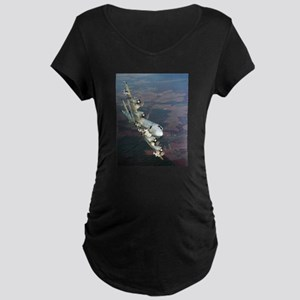 p-3 orion Maternity Dark T-Shirt