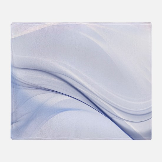 Abstract Water Waves Throw Blanket
