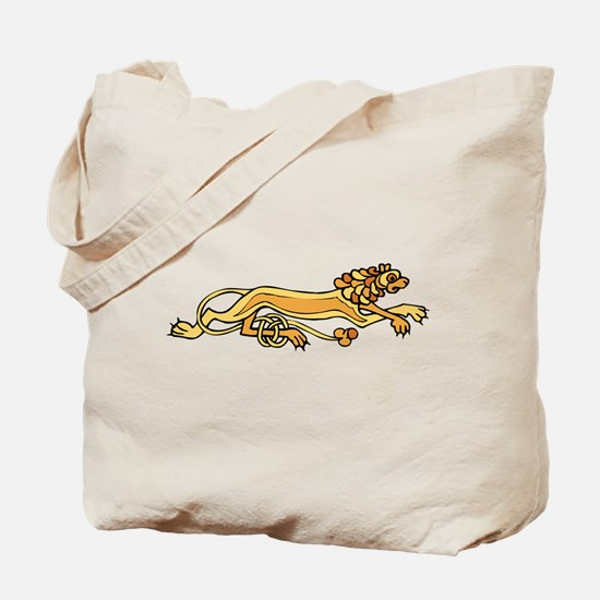 Celtic Lion Tote Bag