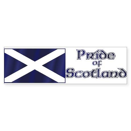 Scottish Pride Bumper Sticker