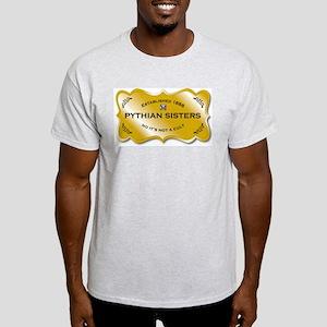 Pythian Sisters Not a Cult Light T-Shirt