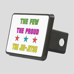 The Few The Proud Jiu-Jits Rectangular Hitch Cover