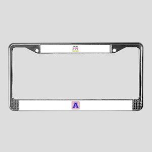 The Few The Proud Jiu-Jitsu Ma License Plate Frame