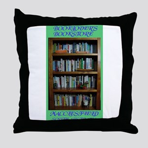 BOOKLOVER'S BOOKSTORE Throw Pillow