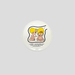 Blonde EGGBERT Low on Parts Mini Button