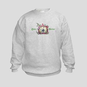 Laughing Cairn Terrier Kids Sweatshirt