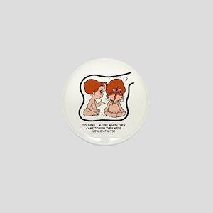 Redhead EGGBERT Low on Parts Mini Button
