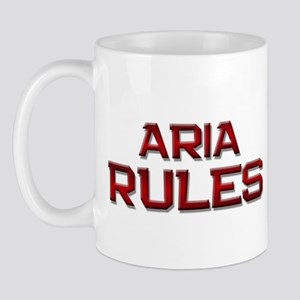 aria rules Mug