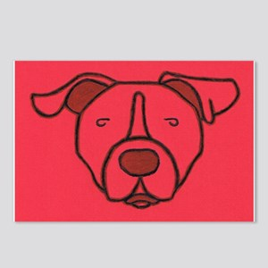Red Pit Head Postcards (Package of 8)