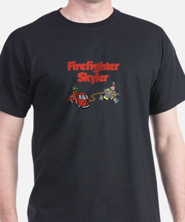 Firefighter Skyler T-Shirt