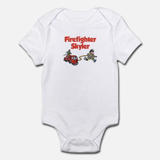 Firefighter Skyler Infant Bodysuit