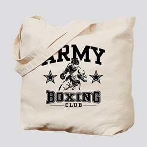 Army Boxing Tote Bag