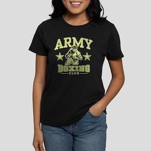 Army Boxing Women's Dark T-Shirt