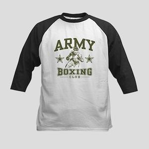 Army Boxing Kids Baseball Jersey
