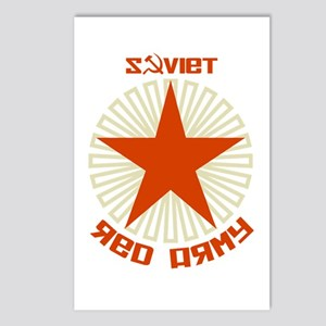 Soviet Red Army Star Postcards (Package of 8)