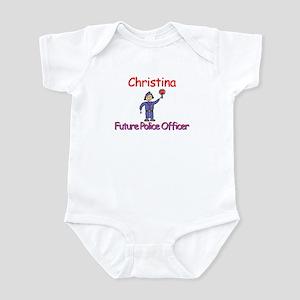 Christina - Future Police Infant Bodysuit